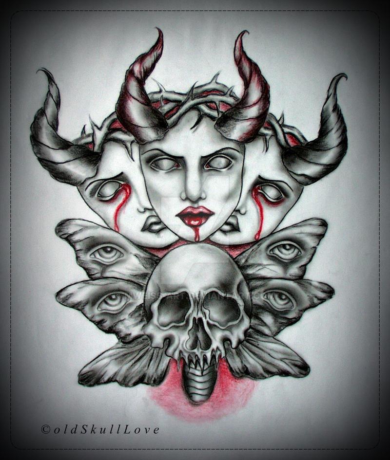 THORNS tattoo design by MWeiss-Art