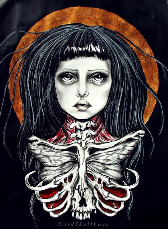 DEATH MOTH by MWeiss-Art