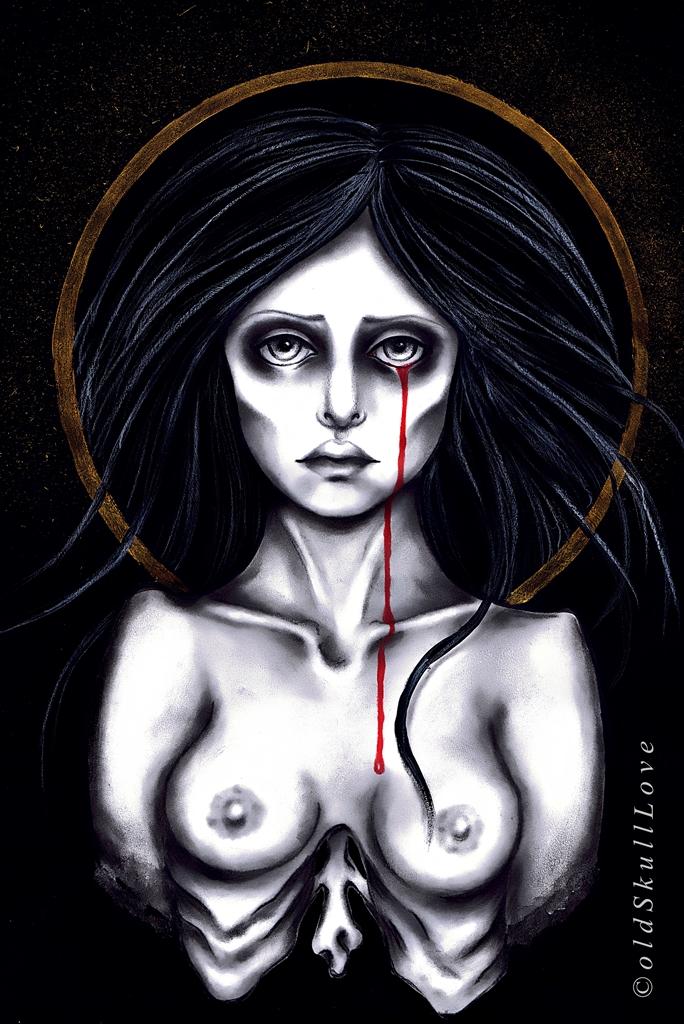 SORROW by MWeiss-Art