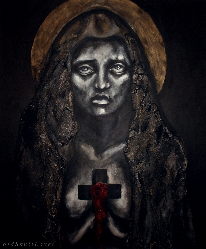 from THE MORGUE OF SAINTS series by oldSkullLovebyMW