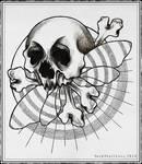 Death Moth tattoo design