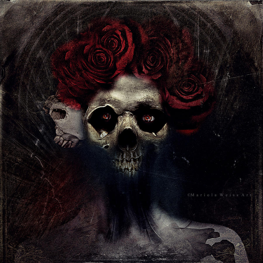santa muerte by MWeiss-Art