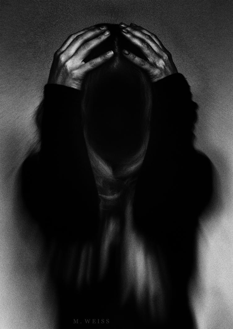the funeral of my soul by MWeiss-Art