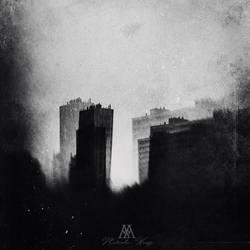 city in monochrome