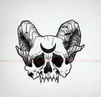 tattoo design I by MWeiss-Art