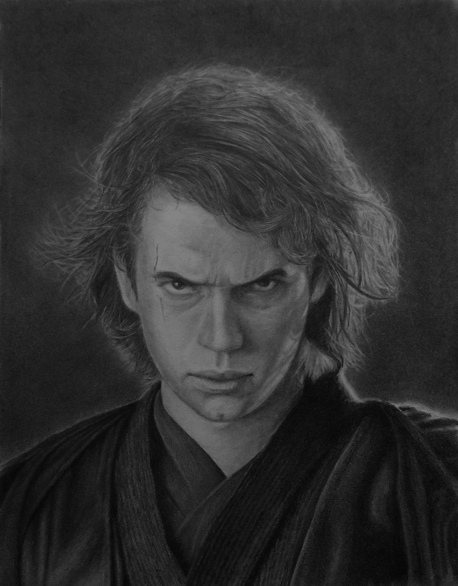 Anakin Skywalker by Hleblep