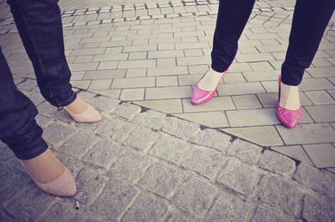Running in Heels by Dudette-36
