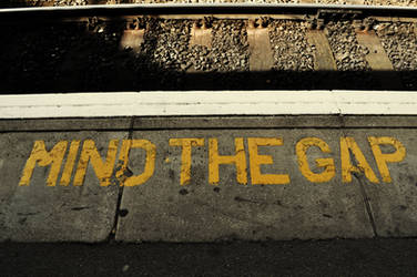 Mind the Gap by Dudette-36