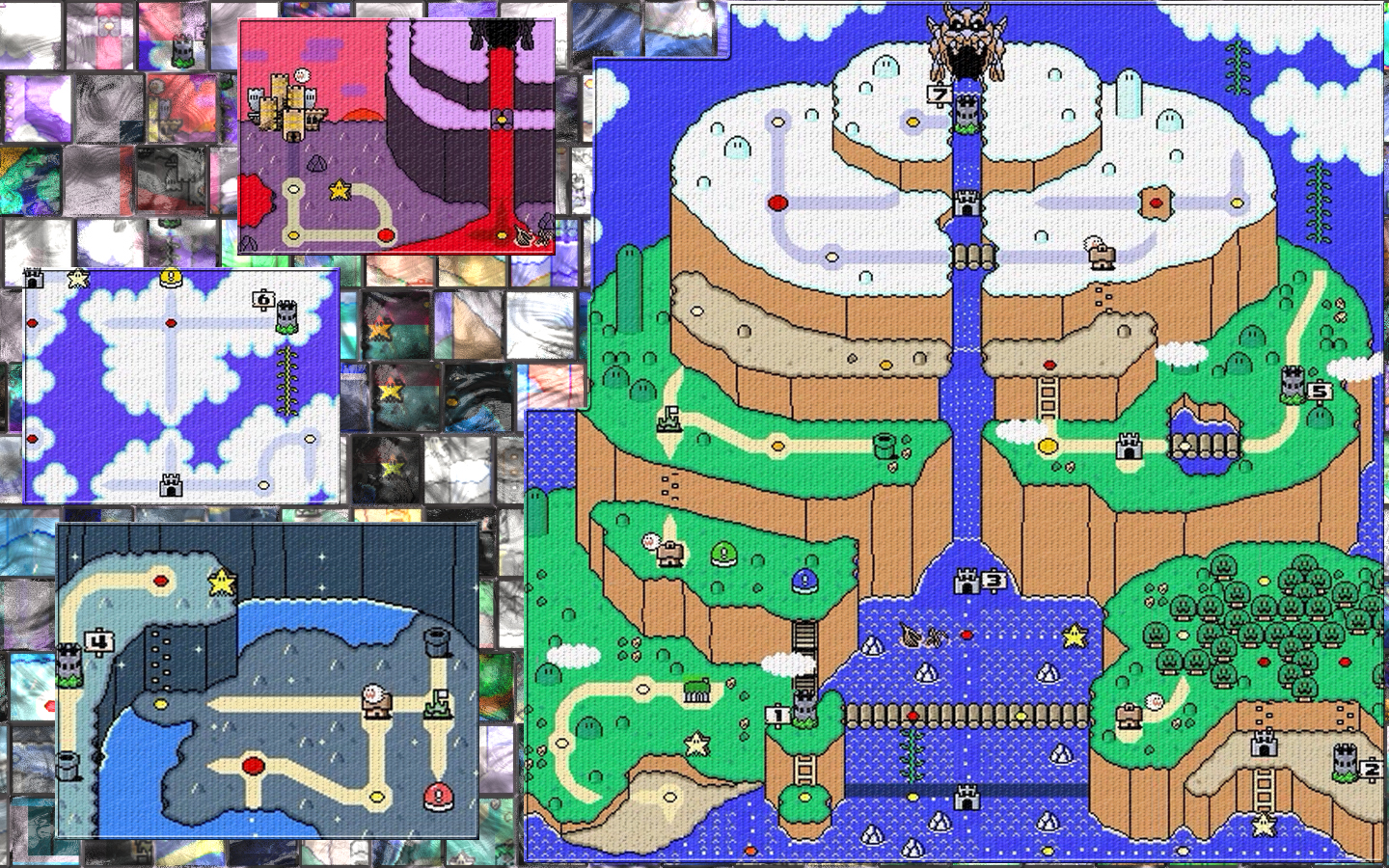 Brutal mario world maps by jobexi on deviantart brutal mario world maps by jobexi gumiabroncs Images