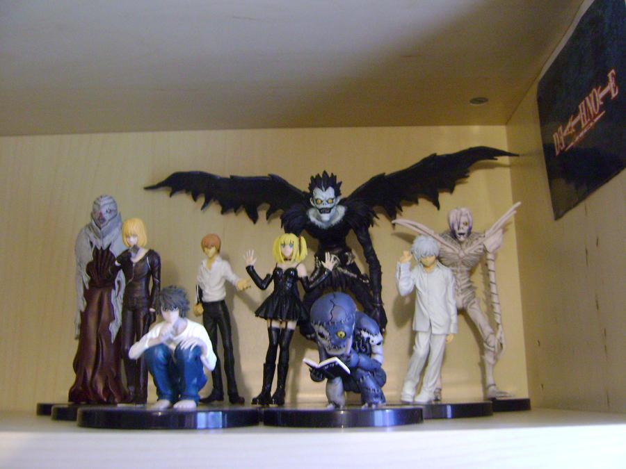 death note figurines by lilyaz001 on deviantart. Black Bedroom Furniture Sets. Home Design Ideas