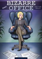Bizarre Office - comic cover by Coaxdreams