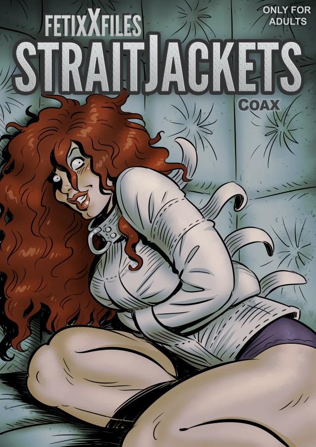 Cover FetixX files Straitjackets by Coaxdreams