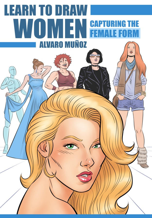 Learn to Draw Women - book cover