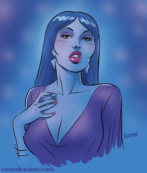 Woman in Blue - video