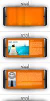Real. Portfolio Interface, Web