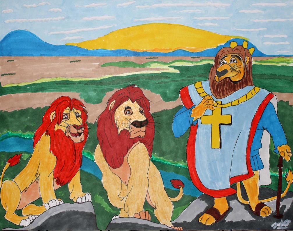 Lion Kings by JavierOrlando