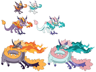 Commissions - Ceres Fire Starter Fakemon