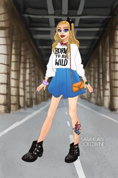 Modern Day Alice by NinaGeek818