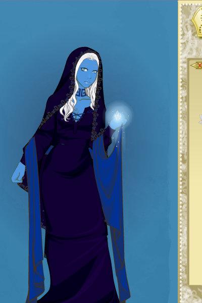 Blue Diamond as a RPG Heroine by NinaGeek818