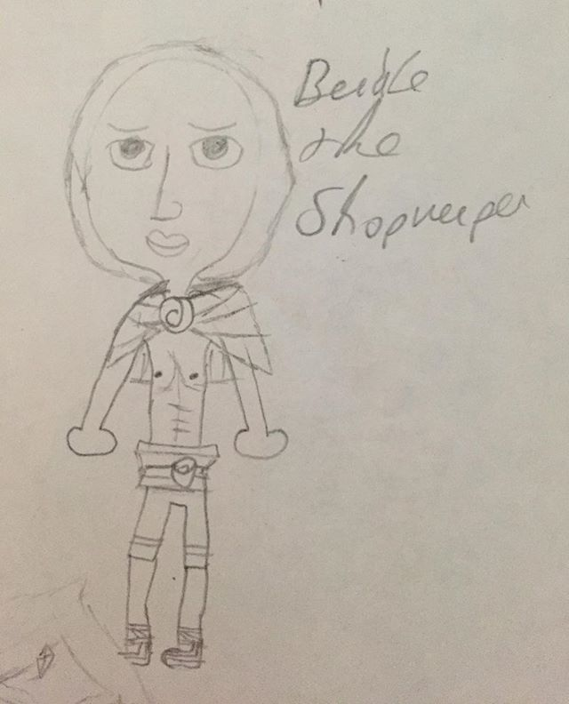 Beedle the Shopkeeper (Skyward Sword Version) by NinaGeek818