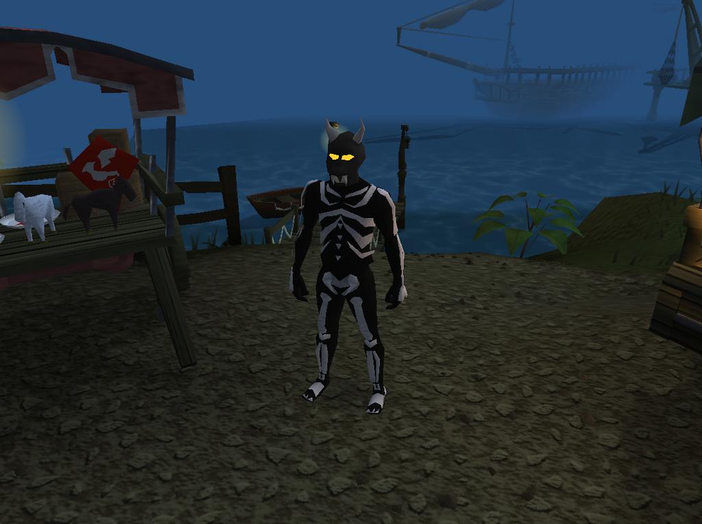 Black H'ween mask by GandalfrRune on DeviantArt