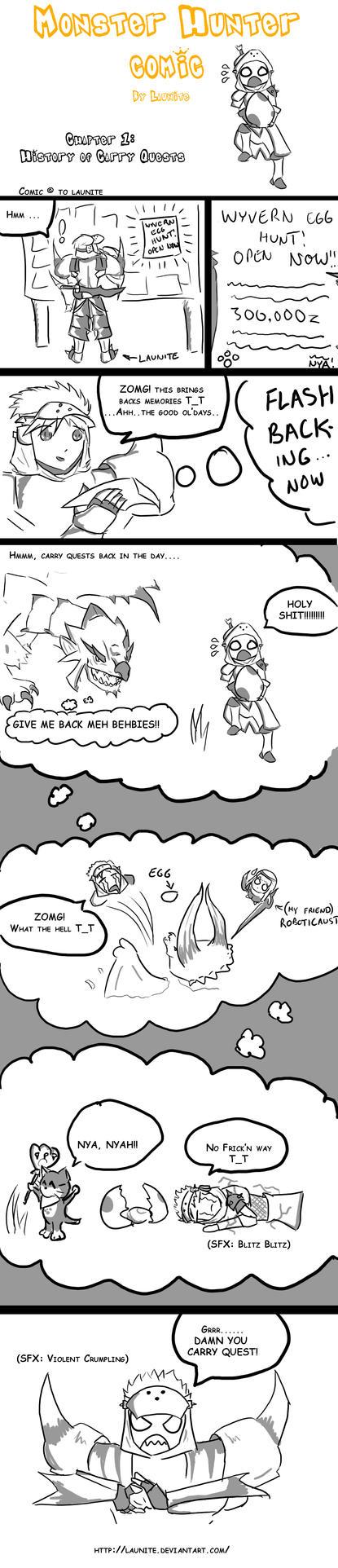 Monster Hunter Comic Chap.1 by Launite