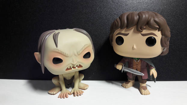 Frodo and Gollum