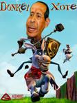 Caricature: Jamil Sayyed (Donkey Xote)