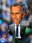 Caricature Jose Morinho