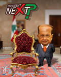 Presidential Candidate Michel Aoun Caricature