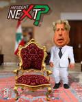 Presidential Candidate Amin Gemayel Caricature