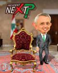 Presidential Candidate Sleiman Frangieh Caricature