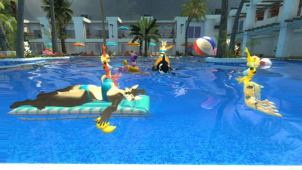 Gmod Girls Pool party