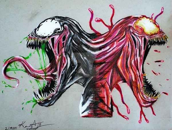 Venom And Carnage By Onitensu21 On Deviantart