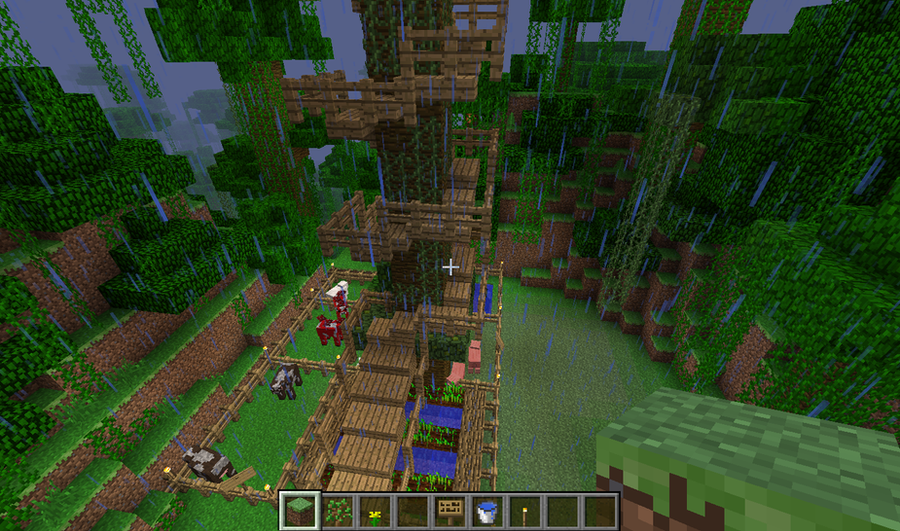 Home Design Image Ideas Minecraft Jungle Village Ideas