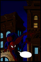 Spidey in the City by Jameslfree