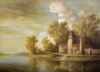Dan Scurtu - River Scene 1