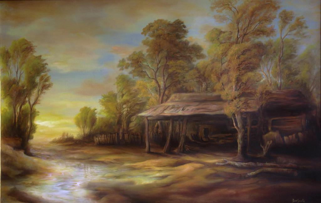 Dan Scurtu - Old Hut from Turceni by DanScurtu