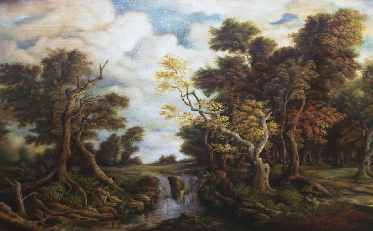 Dan Scurtu - Old Forest by DanScurtu
