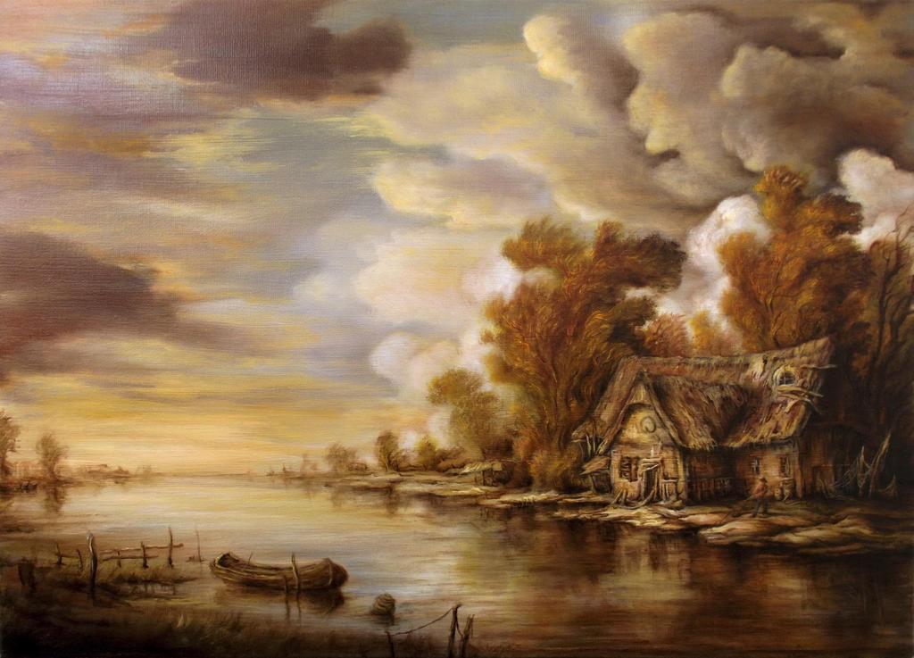 Dan Scurtu - River Scene 3 by DanScurtu