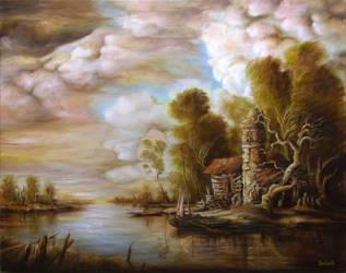 Dan Scurtu - River Scene 4 by DanScurtu