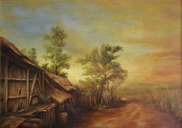Dan Scurtu - Old Hambar from Turceni