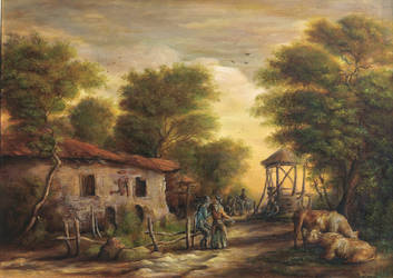 Dan Scurtu - Rural Scene by DanScurtu