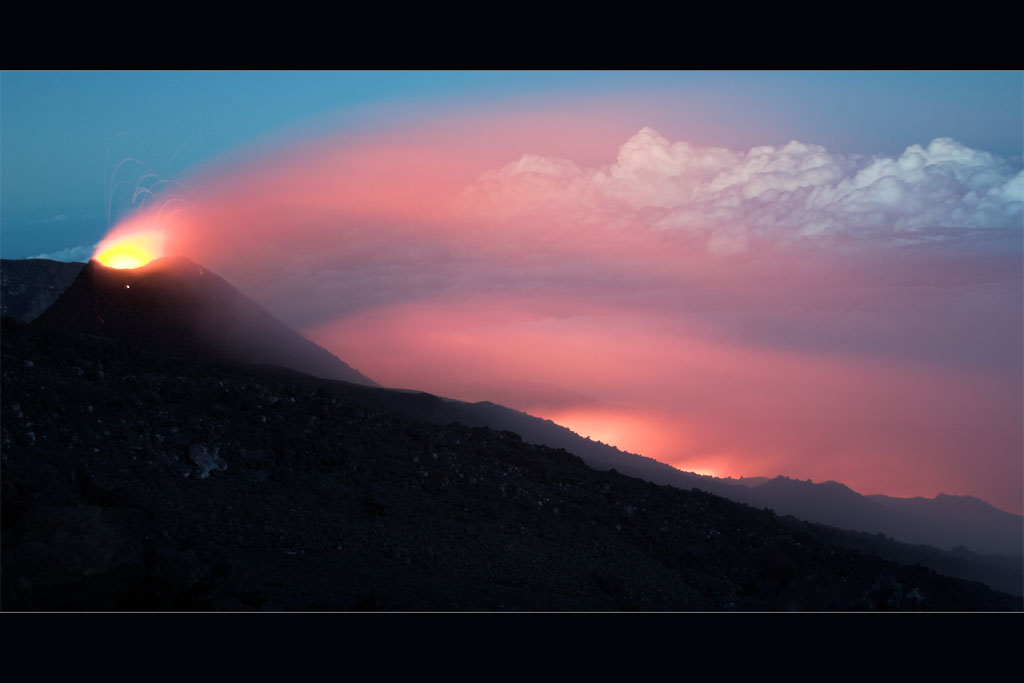 Etna Dusk by syrus