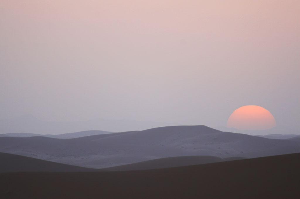 Saharan Sunset by syrus