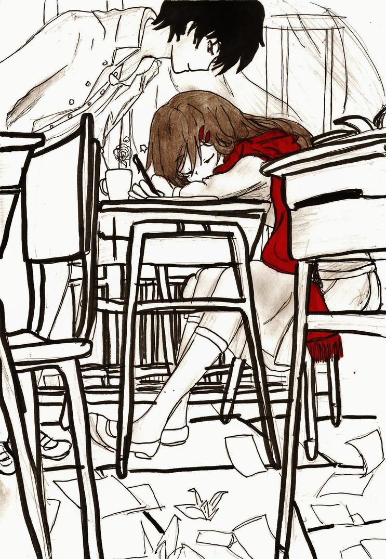 Deaming  After a Tough Day ^^ by princesskaoru