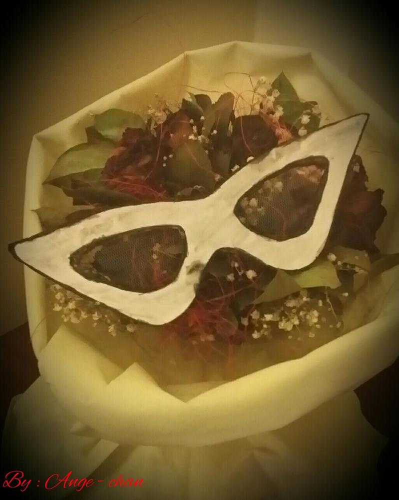 Hand Made Tuxedo Kamen Mask  ^^ by princesskaoru
