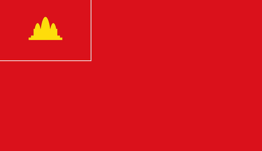 Civil ensign of Democratic Kampuchea by warblooda