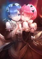 Twin Maid by NevoAngelo-Arm