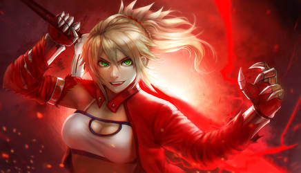 Mordred by NevoAngelo-Arm